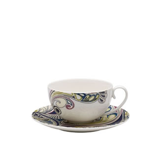Denby Monsoon Cosmic Tea Saucer