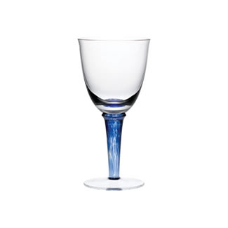 Denby Red Wine Glass Set of 2 - Imperial Blue