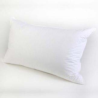 Sleep Well Live Well Irish Dreams White Goose Down Pillow Extra Fill 800 grms.