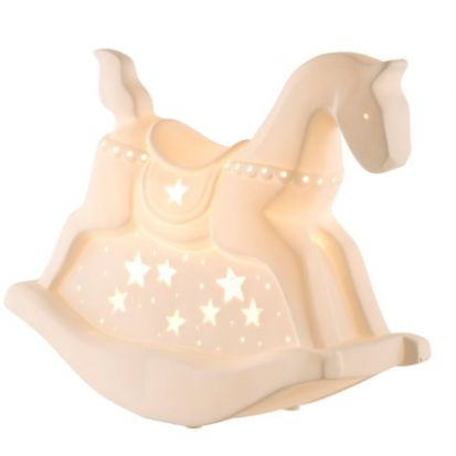 Belleek Rocking Horse Luminaire