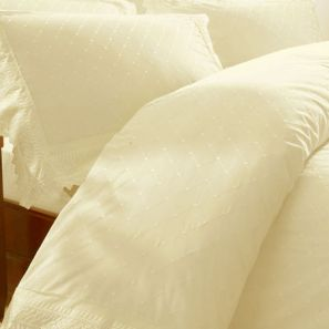 Broderie Balmoral Cream Duvet Cover Set King