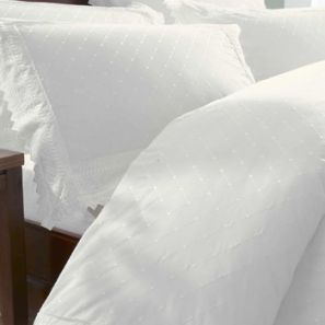 Broderie Balmoral White Duvet Cover Set Superking