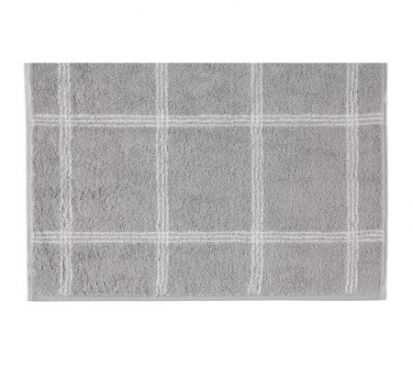 Cawo Two-Tone Platinum Bath Mat
