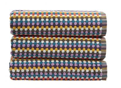 Christy Carnaby Stripe Bath Sheet - Multi