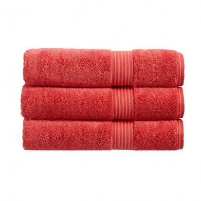 Christy Supreme Hygro Bath Towel - Coral