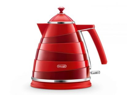 Delonghi Avvolta Electric Kettle Red