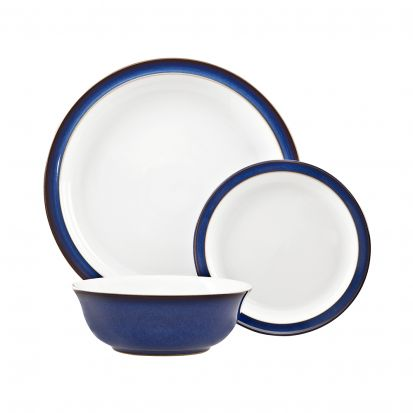 Denby Imperial Blue 12 Piece Box Set