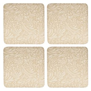 Denby Monsoon Lucille Gold Coasters