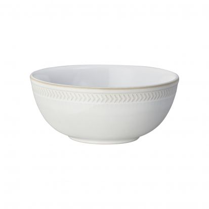 Denby Natural Canvas Textured Cereal Bowl