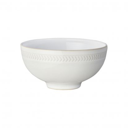 Denby Natural Canvas Textured Rice Bowl