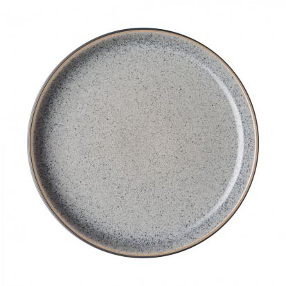 Denby Studio Grey Coupe Dinner Plate