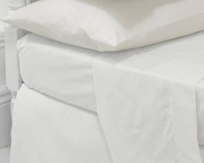 Eleanor James Anabel Sheet Set White Double