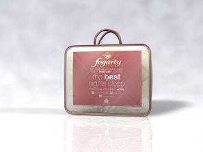 Fogarty Natural Wool Filled Mattress Protector Double