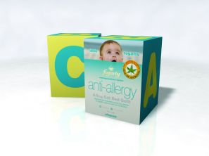 Little Fogarty Anti Allergy Cot Bed Duvet
