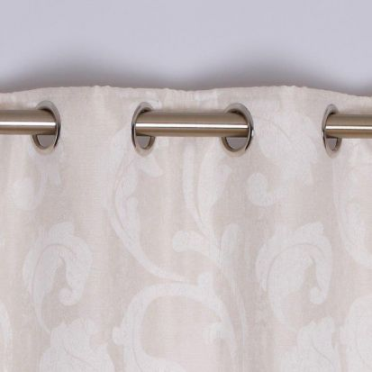 Rochelle Eyelet Curtains Ivory 90