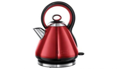 Russell Hobbs Legacy Quite Boil Electric Kettle - Red
