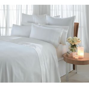 Sheridan 1000 Thread Count Double Fitted Sheet Snow