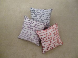 Stratton Filled Cushion - Red