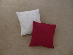 Westford Filled Cushion - Red