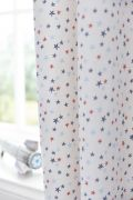 Bianca Cotton Soft Star Eyelet Readymade Curtains 66