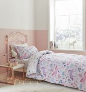 Bianca Woodland Unicorn and Stars Pink Duvet Cover Set - Single 1