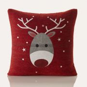 Blitzen Christmas Cushion Cover