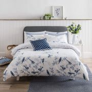 Cath Kidston British Birds Blue Duvet Cover Set - Single