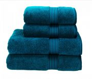Christy Supreme Hygro Towelling Bath Mat - Kingfisher
