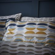 Content by Conran Eclipse Ochre Duvet Cover Set - King 2
