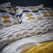 Content by Conran Eclipse Ochre Duvet Cover Set - Single 3