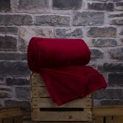 Deyongs Hudson Throw - Crimson