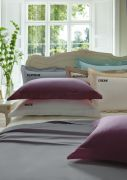 Dorma 300 Thread Count Cotton Sateen Fitted Sheet Single Cream