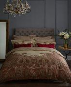 Dorma Nasrina Paprika Duvet Cover Set - King