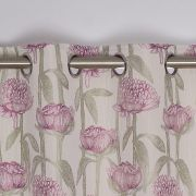 Floriana Readymade Interlined Eyelet Curtains 90