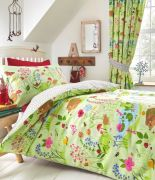 Kid's Club Bluebell Wood Lined Curtains 66