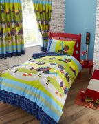 Kids Club Diggers Duvet Cover Set Double