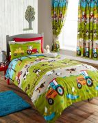 Kids Club Farmyard Duvet Cover Set Single