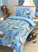 Kids' Club Sea Pirates Duvet Cover Set - Double
