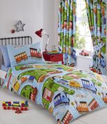 Kids' Club Trains Duvet Cover Set - Single