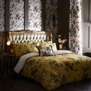 Oasis Leighton Ochre Duvet Cover Set - King