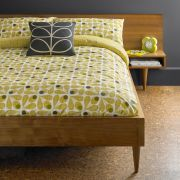 Orla Kiely Acorn Cup Duvet Cover Olive Superking