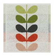 Orla Kiely Large Stem Face Cloth - Tomato