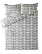 Orla Kiely Scribble Stem Duvet Cover Light Concrete King 1
