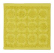 Orla Kiely Sculpted Flower Face Cloth - Dandelion