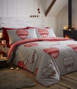 Portfolio Boden Red Duvet Cover Set - Superking