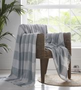 Portfolio Epsom Cotton Throw - Grey (180x250cm)