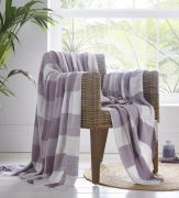 Portfolio Epsom Cotton Throw - Heather (228x250cm)