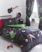 Portfolio Guitar Rock Line Curtains 168x183cm