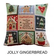 Portfolio Jolly Gingerbread Cushion 43x43cm