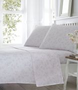 Portfolio Pretty Floral Sheet Set Superking - Pink
